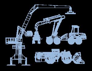 jameshaft-metsäkone-maanrakennuskone-kaivoskone-kuormankäsittelylaite-nivelet-tappi-holkki