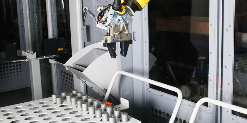 Jameshaft-Grinding-Robot-Loading-Cylindrical grinding-Pin-Harvester