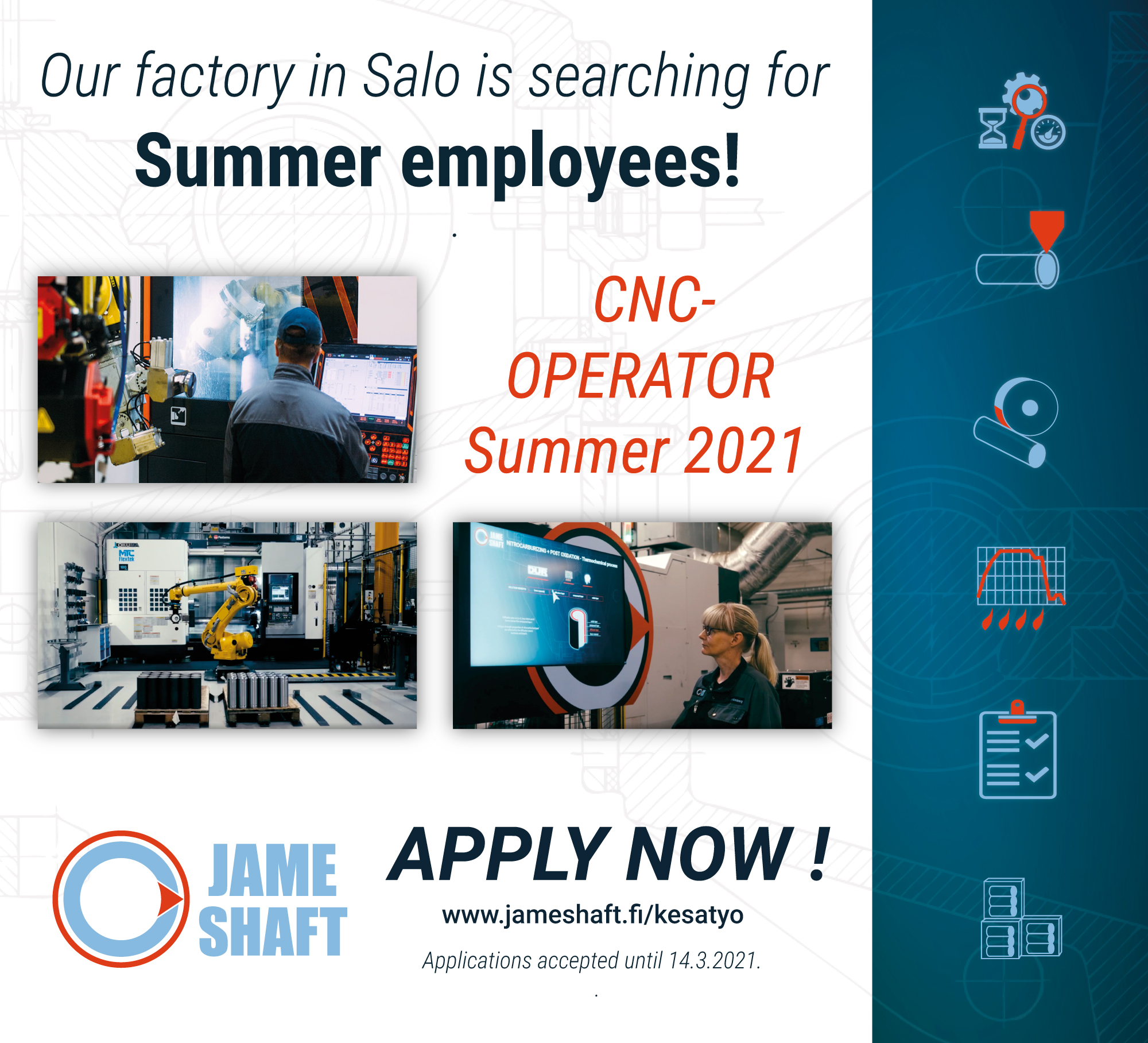 Jameshaft Summer Employee 2021