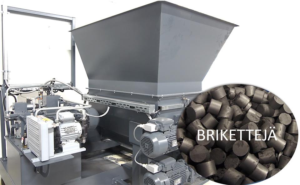 Jame-Shaft-Ymparisto-kierratys-hiomajate-briketti-metalliromun-uudelleenkaytto